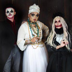Maquillages et costumes Halloween