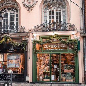 facade de la boutique Oliver and Co
