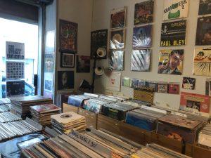 Intérieur de la boutique Deep and Record