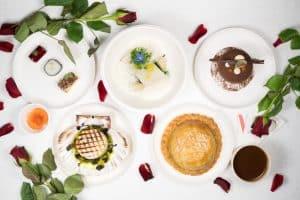 Menu de St Valentin, proposé par Philippe Etchebest dans son restaurant Le Quatrième Mur