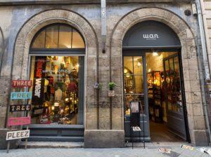 facade de la boutique WAN