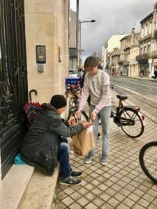 #poureuxbordeaux distribution de repas