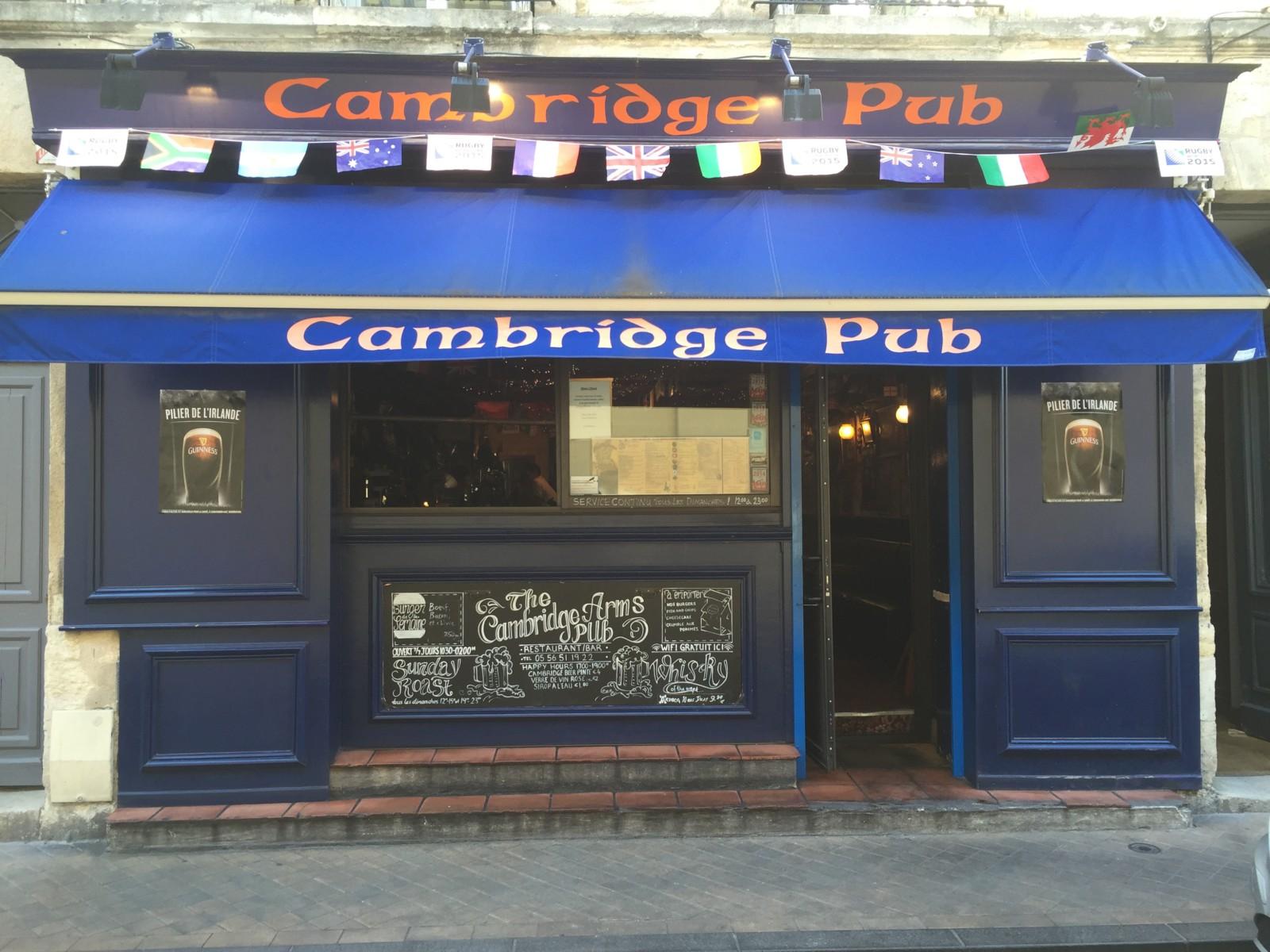 Cambridge arms