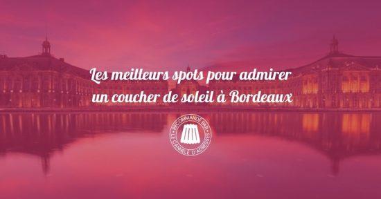 Les meilleurs spots pour admirer un coucher de soleil à Bordeaux